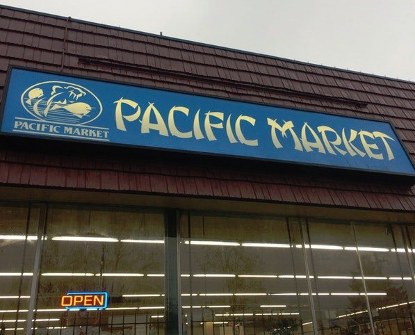 Pacific Suppermarket in Portland