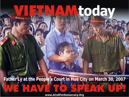 LM Ly-muzzled Father Nguyen van Ly